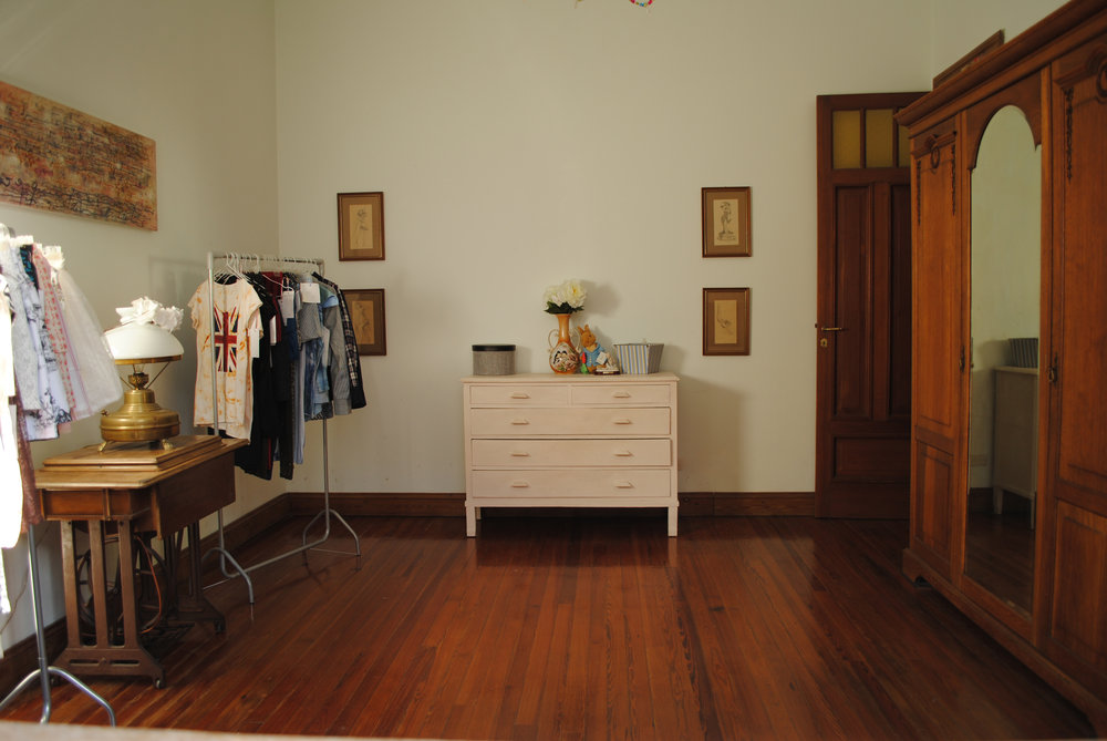 Este era nuestro primer primer showroom que armé hace 8 años