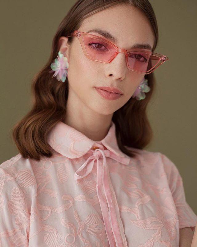 Las camisas Pinky de algodón también están online y en el local ❤️