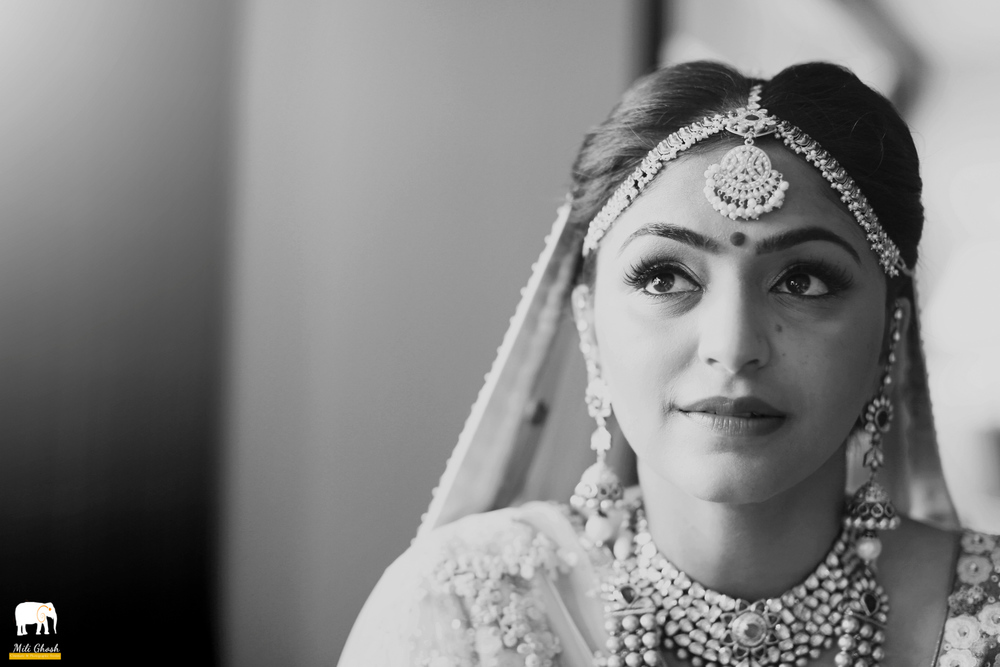 BW INDIAN BRIDE
