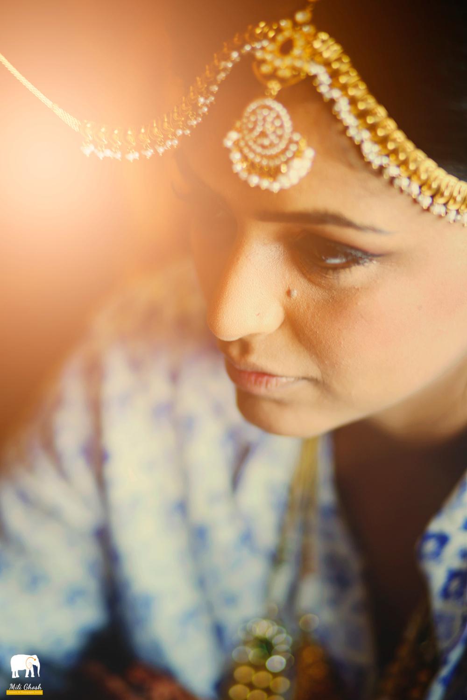 DRESSED INDIAN BRIDE