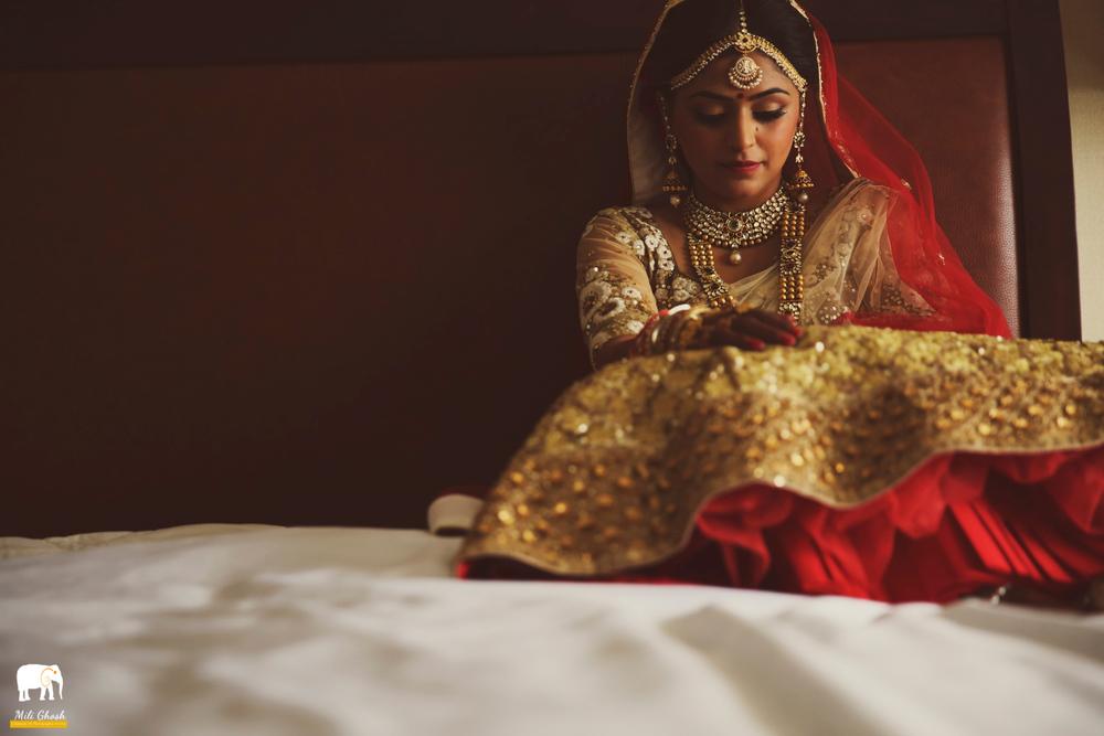DRESSED UP INDIAN BRIDE