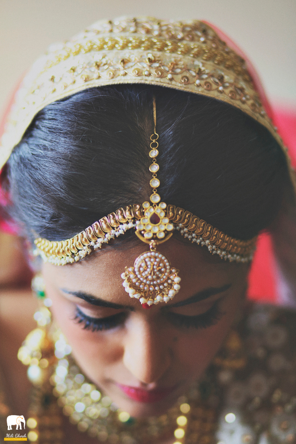 Copy of BEAUTIFUL INDIAN BRIDE HEAD PIECE