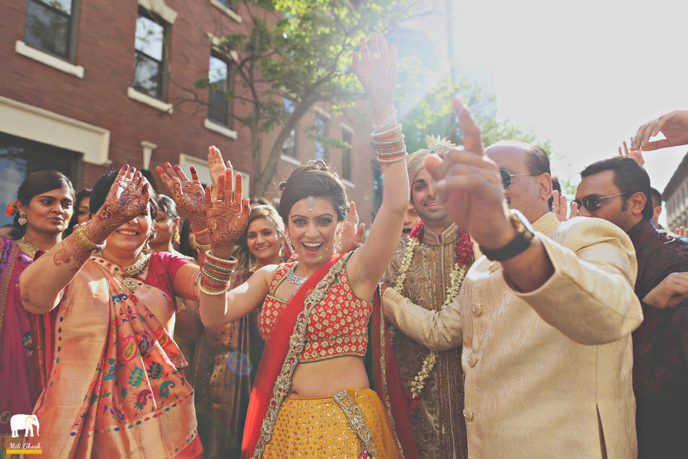 DANCING AT BARAAT