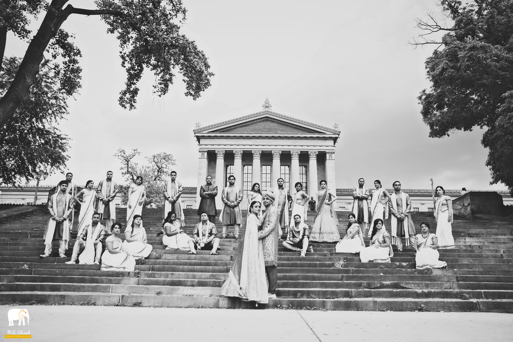 BW INDIAN BRIDAL PARTY