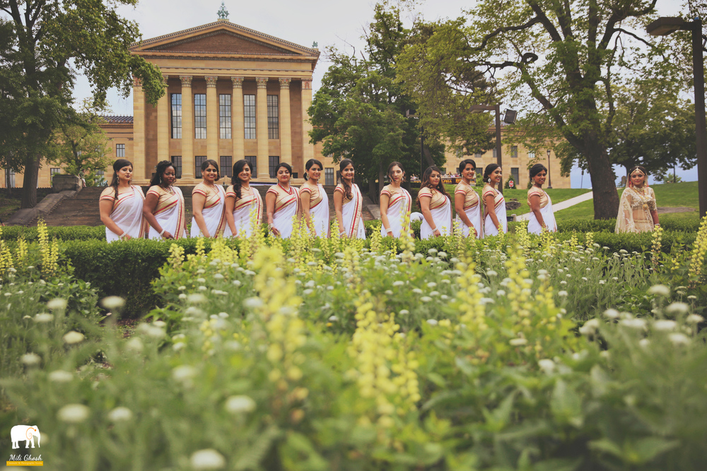 Copy of BRIDAL PARTY WITH FLOWERS