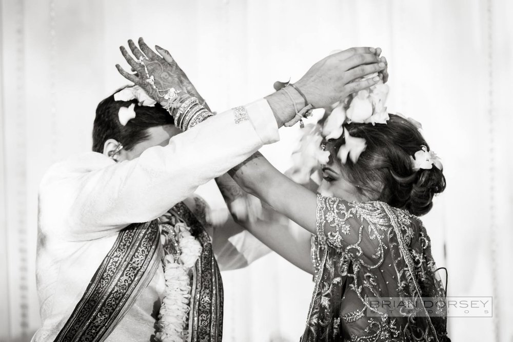 Couple during Indian Ceremony
