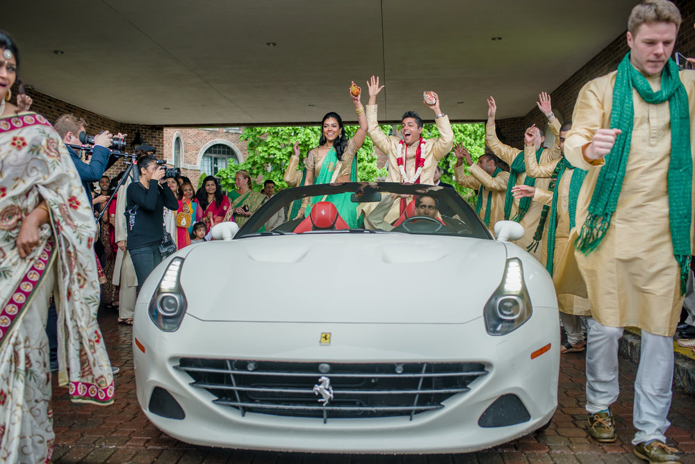 BARAAT IN SPORTS CAR