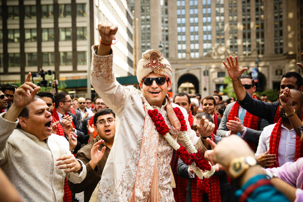 Groom at the Baraat