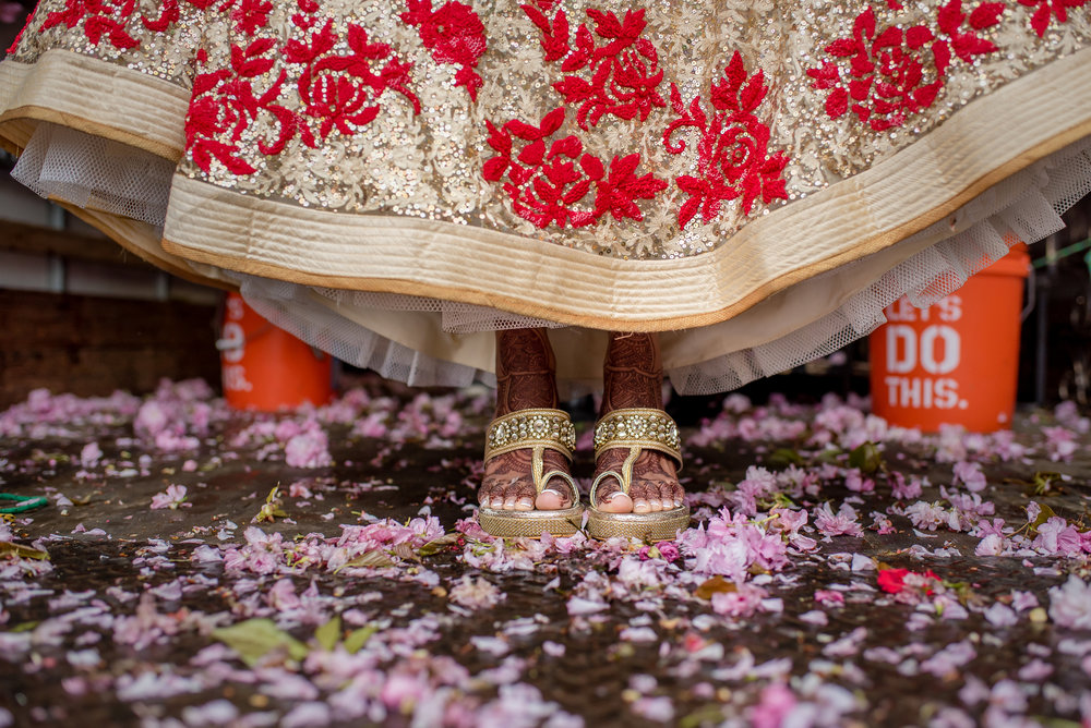 INDIAN BRIDE'S FEET