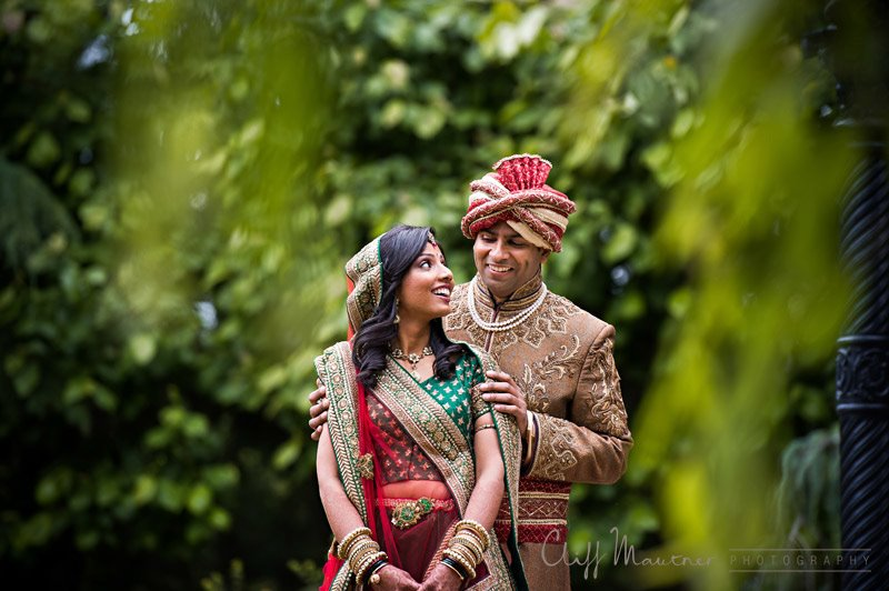 INDIAN COUPLE IN THE TREES