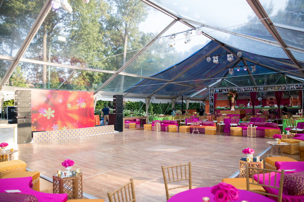 INDIAN WEDDING SANGEET DECOR CLEAR SPAN TENT.jpg
