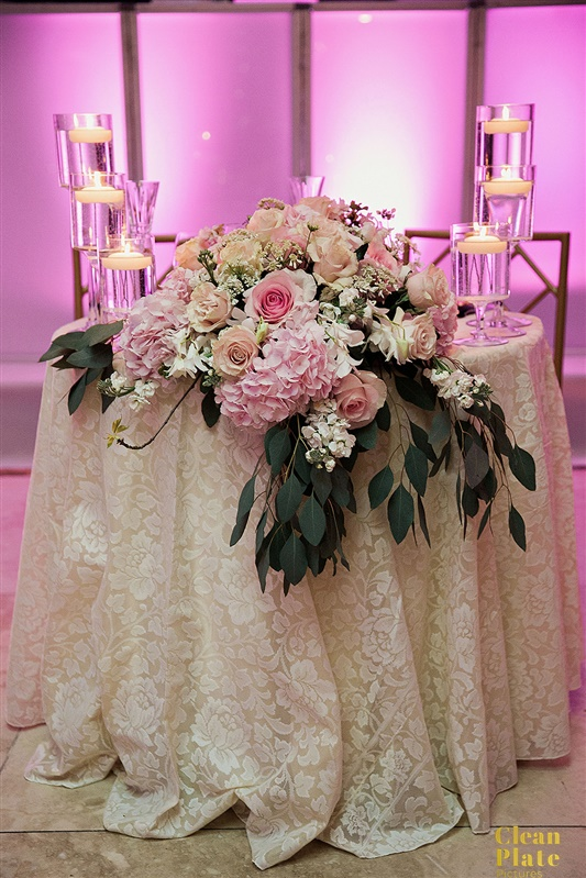 INDIAN WEDDING BRIDE AND GROOM TABLE WITH FLOWER DECOR.jpg