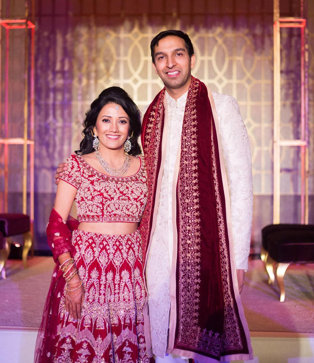 INDIAN WEDDING BRIDE AND GROOM RECEPTION SHOT.jpg