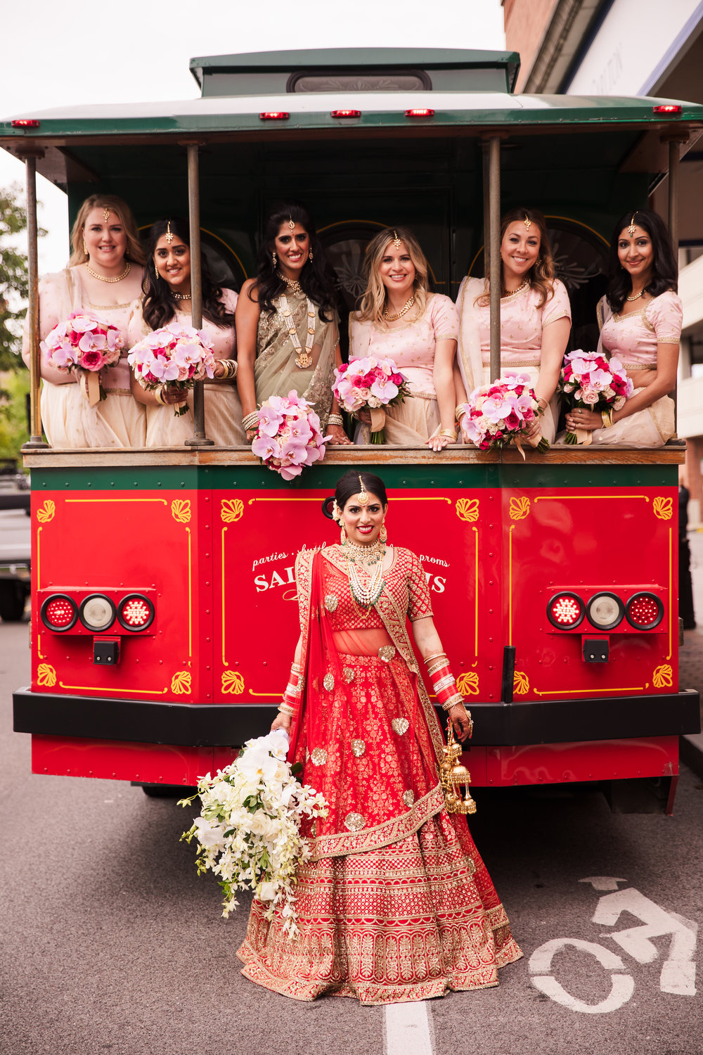 INDIAN WEDDING BRIDE AND BRIDESMAIDS.jpg