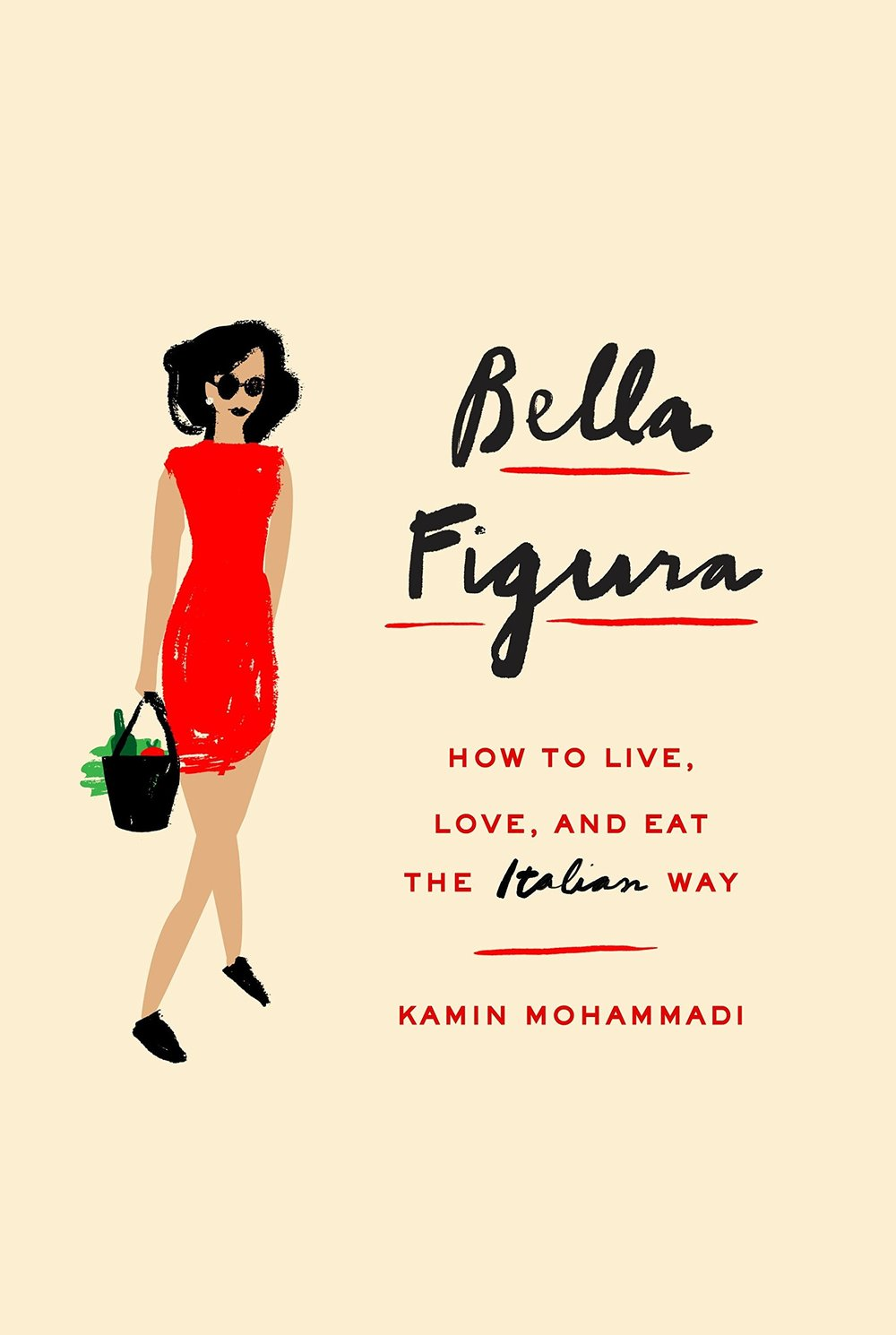 BELLA FIGURA - by Kamin MohammadiKamin Mohammadi, a magazine editor in London, should have been on top of the world. But after heartbreak and loneliness, the stress of her