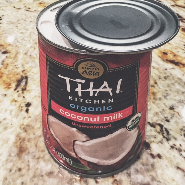 Why I always keep a can of coconut milk in my refrigerator...
