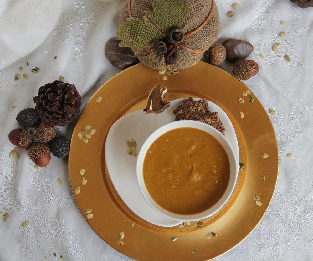 Pumpkin Truffle Soup
