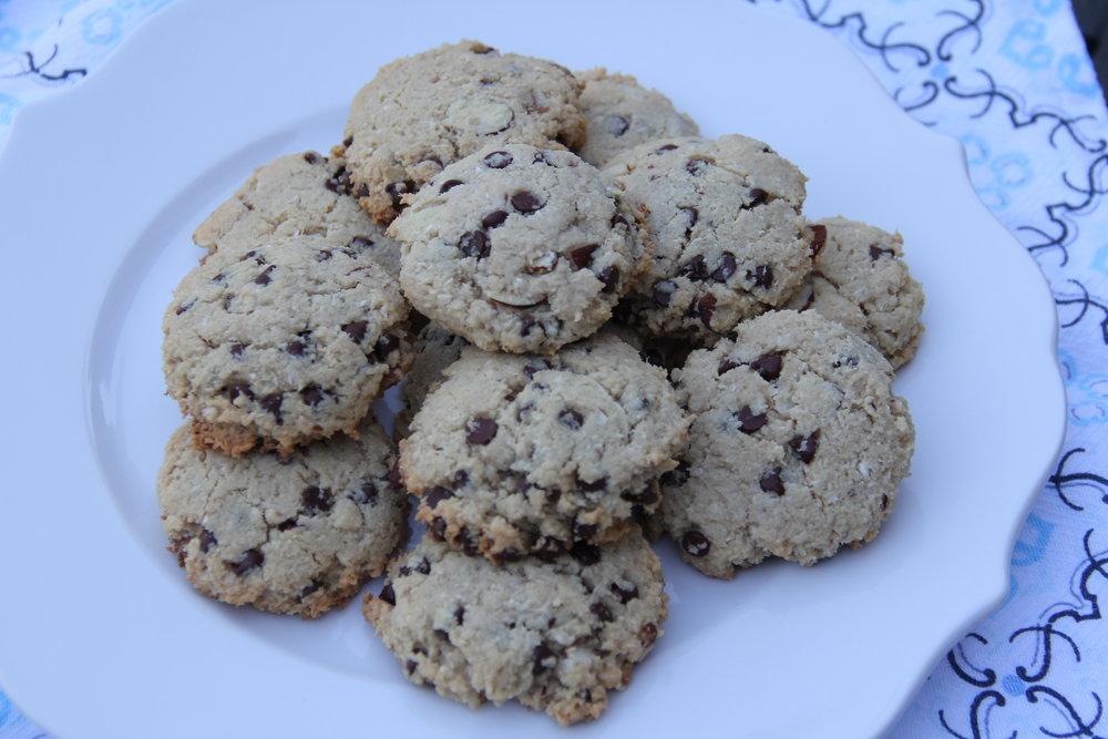 almond joy cookies 1
