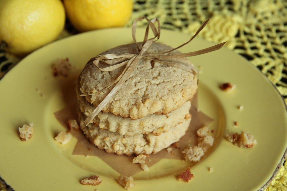 lemon shortbread cookies1