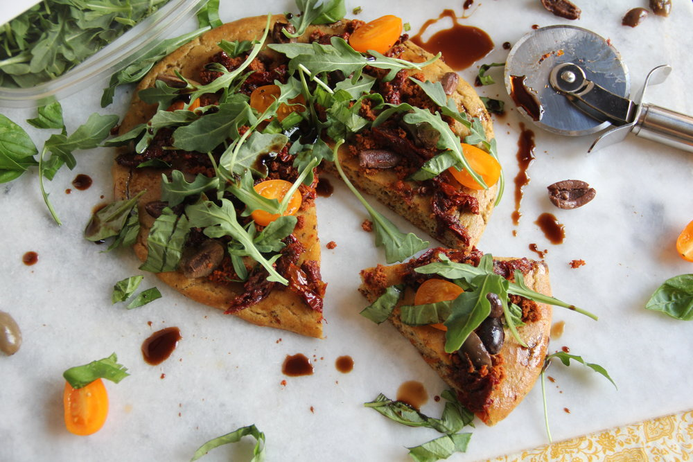 Paleo Flatbread Pizza