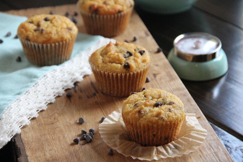 chocolate chip muffins 2