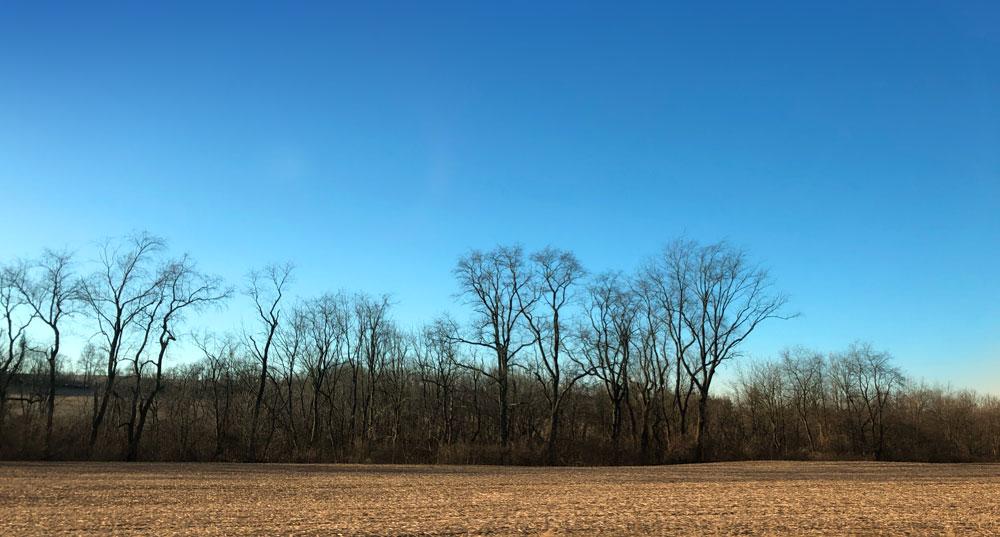 Along Pennsylvania Route 26 near Pleasant Gap.