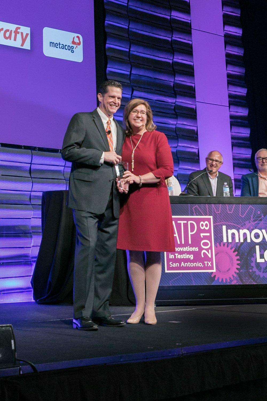 2018  ATP Innovation Lab Audience Success Award.