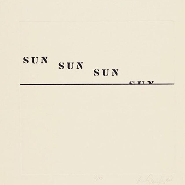 """Sun""by Luis Cannitzer Circa -1937  #saythesun #artist #sunsets 🌅"