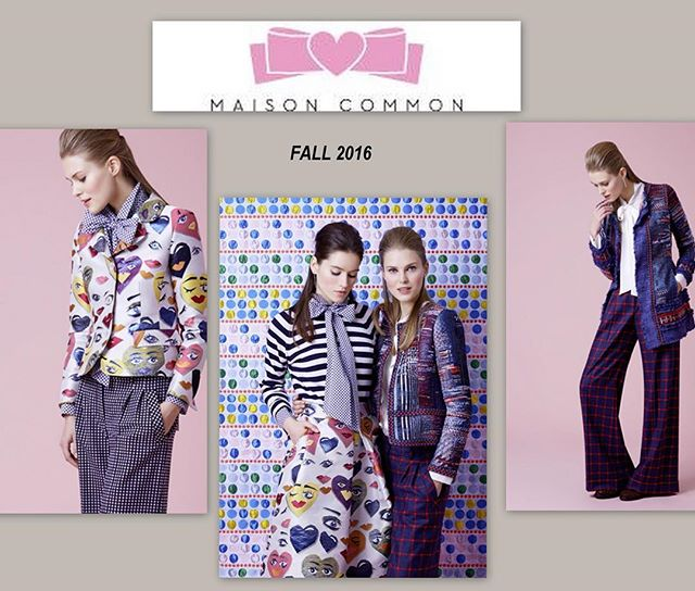 @maisoncommon trunk show this weekend! #trunkshow
