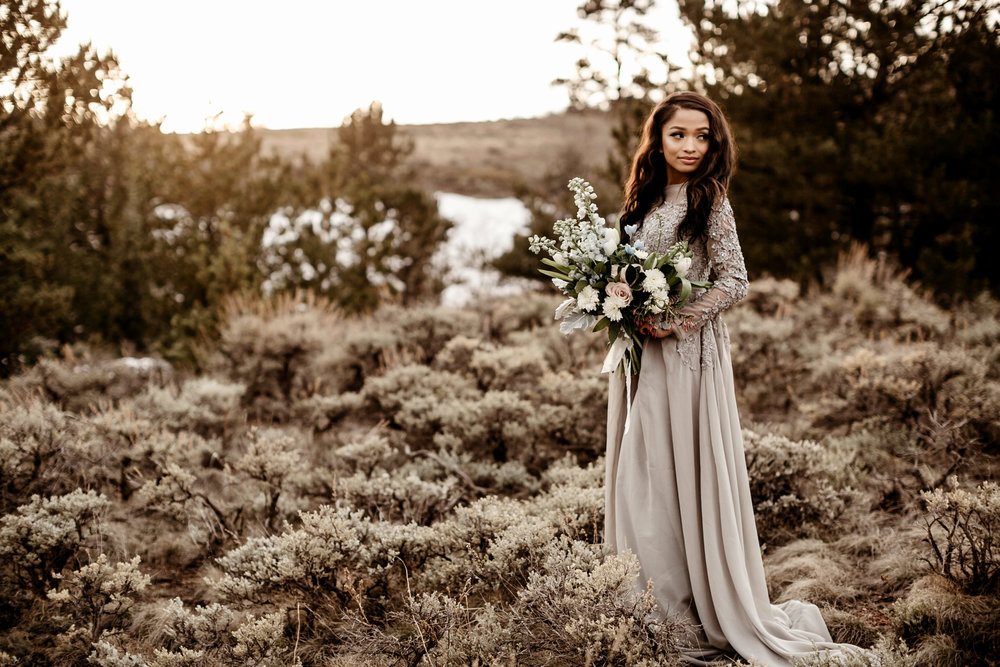 Jada Wyoming Bride Liz Osban Photography