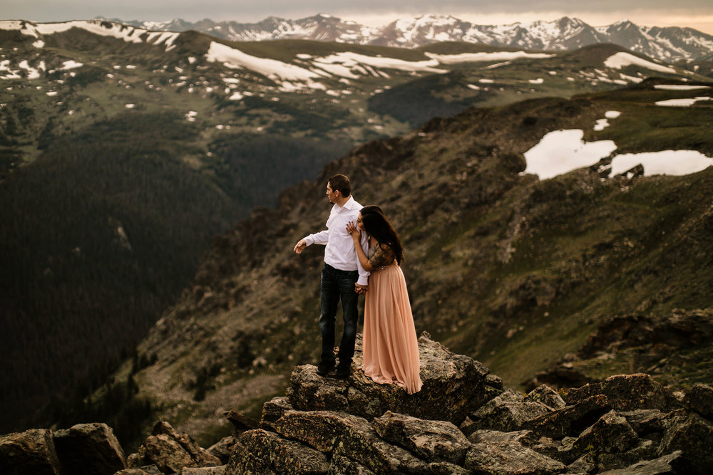 rocky mountain national park photoshoot session photography photographer liz osban colorado engagement elopement love couples film wyoming adventure wedding adrianna devin riekens