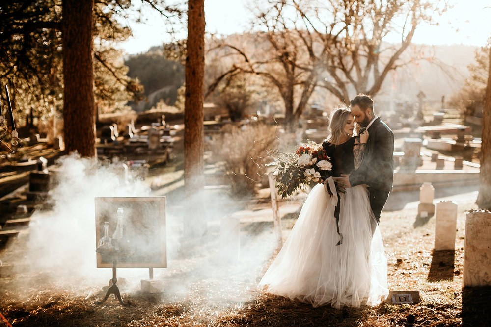 Liz Osban Photography Wedding Elopement Eloped engaged engagement couples session photographer deadwood south dakota wyoming beautiful vintage moody colorado mountains vintage best vintage lease martin mason hotel