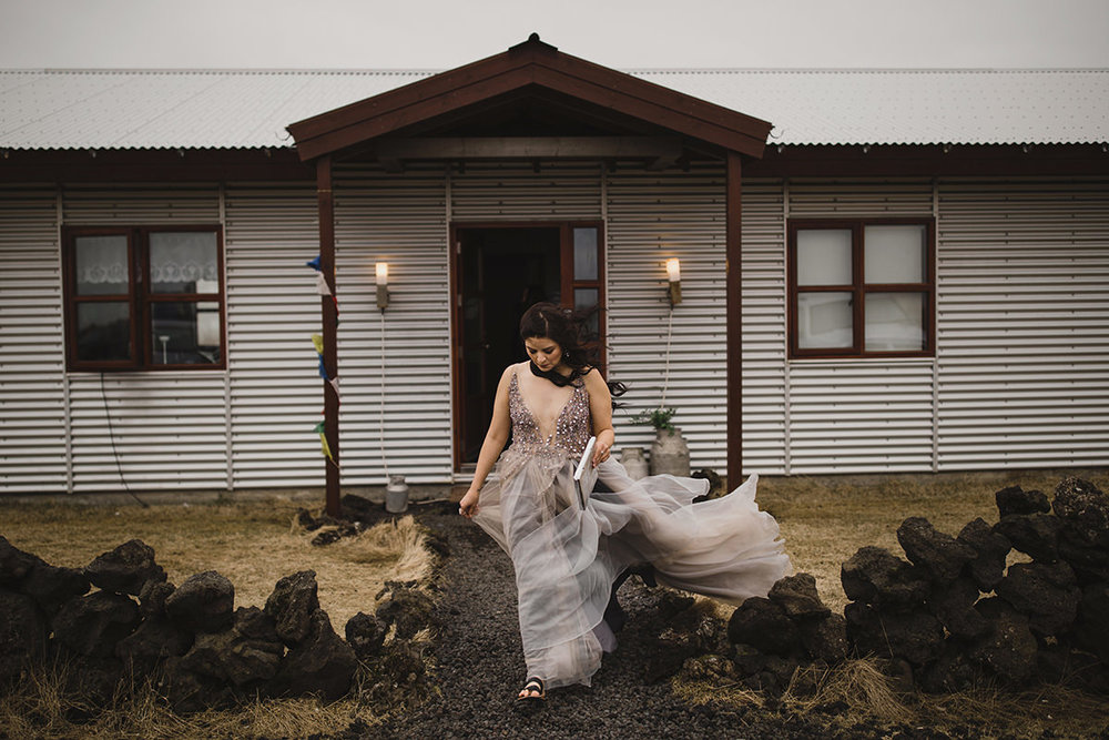 My gown tore on a lava rock the moment I stepped outside. And that's OKAY. If your dress didn't get a little scruffed, I don't think you did it right.
