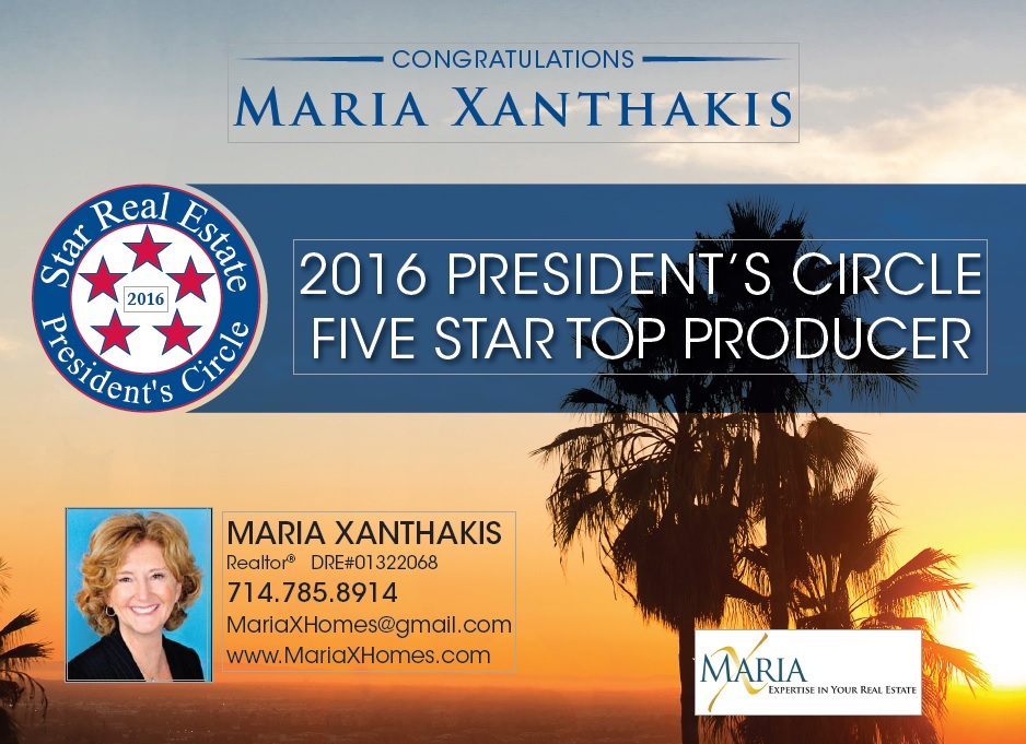 """Maria X is one of the most respected Realtors in the industry."""