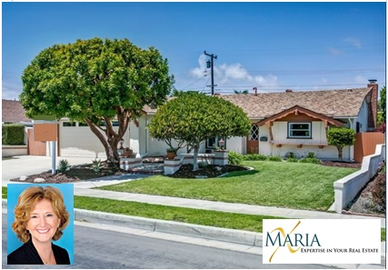 PENDING - Offered at $749,000Call Maria X at 714 785-8914  4571 Rhapsody Huntington Beach, CA4 Bedrooms, 2 Baths, 1464 sq. ft. (A)