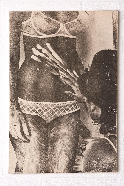Tiger Tummy - $1250 | 24x36