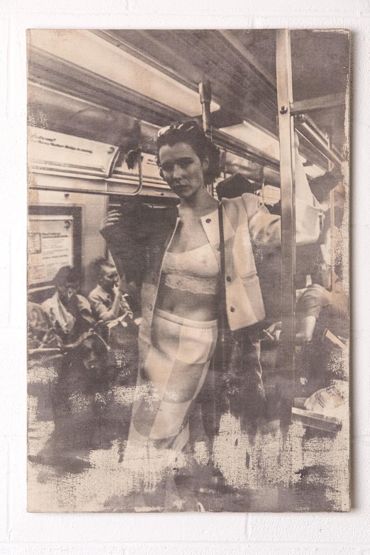 L Train Vintage - $3000 | 24x36