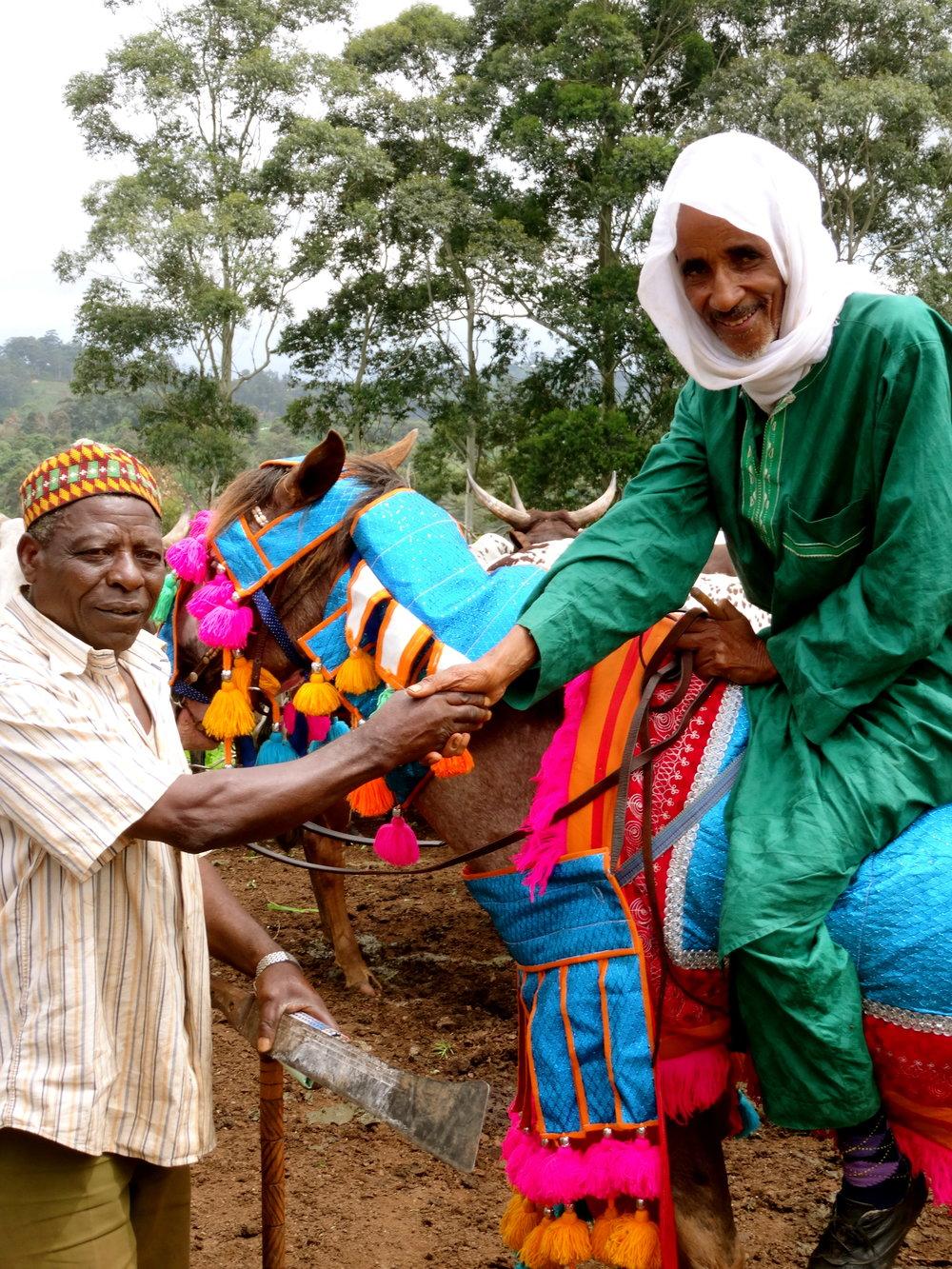 Mr A Farmer & Manou Mbelori  - Alliance Farming Pair.jpg