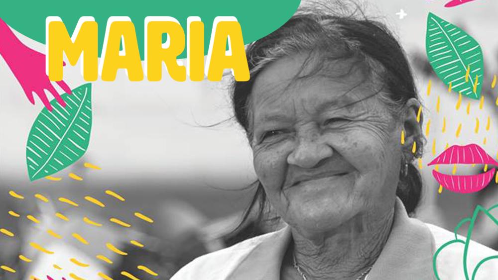 Maria waste picker patos