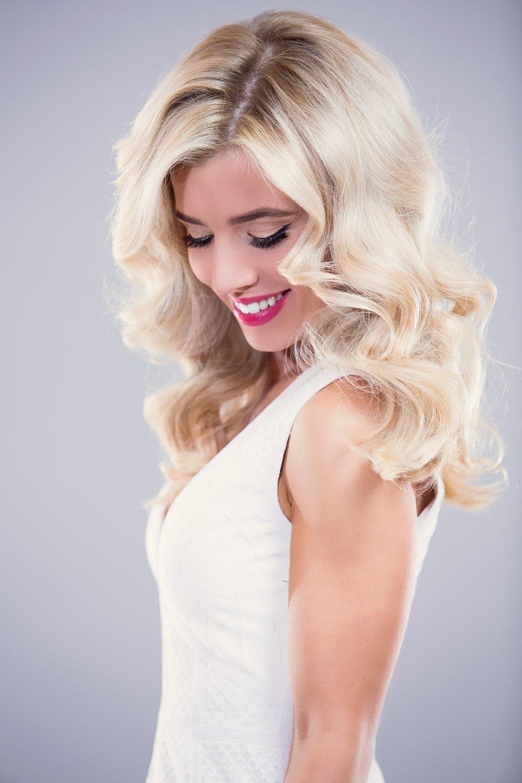 Bridal Series curls - Step by Step