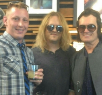 John Varvatos Presents Glenn Hughes private event- VIP Guest-Jul 2012 Malibu, CA