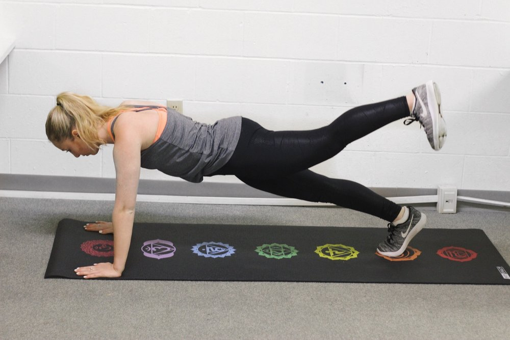 Glute pulses