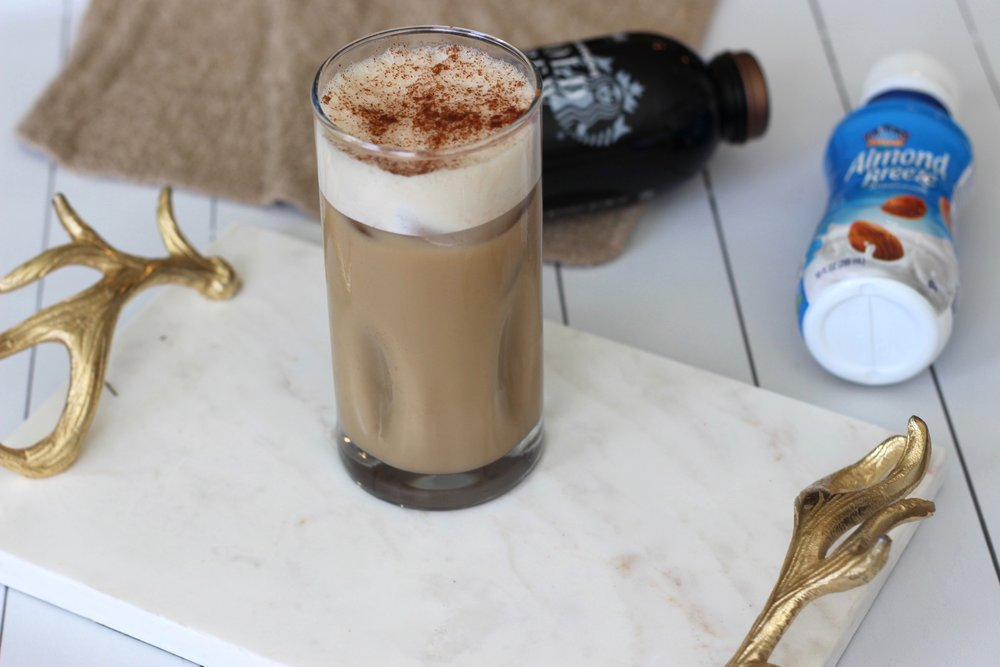 Easy at home pumpkin spice latte by Au Courant Life