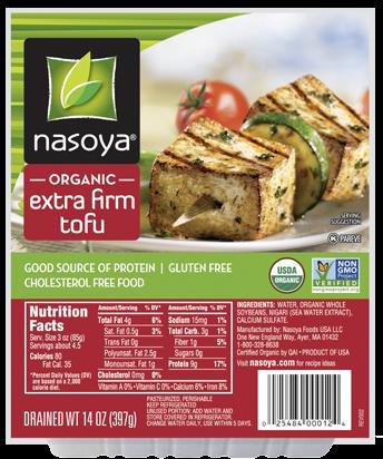 12. Extra Firm Tofu
