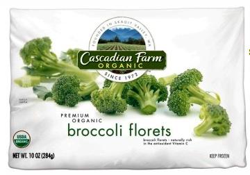 10. Organic Frozen Broccoli