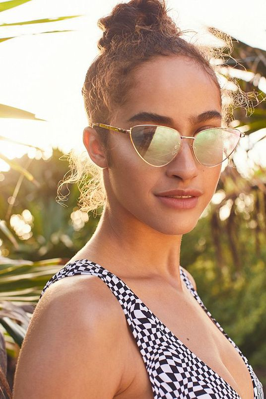 Celeste Cat-Eye Sunglasses