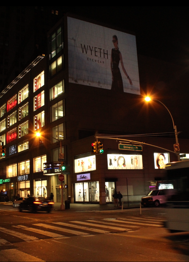 Wyeth NYC Projections