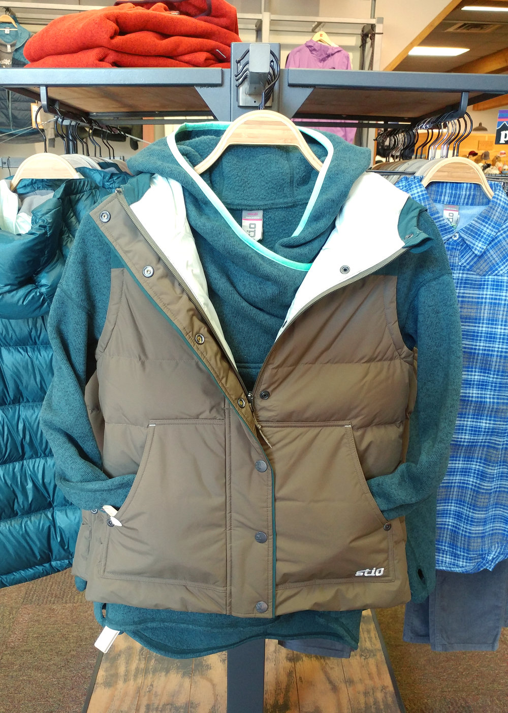 Stio Sweetwater Fleece & Woodson Down Vest
