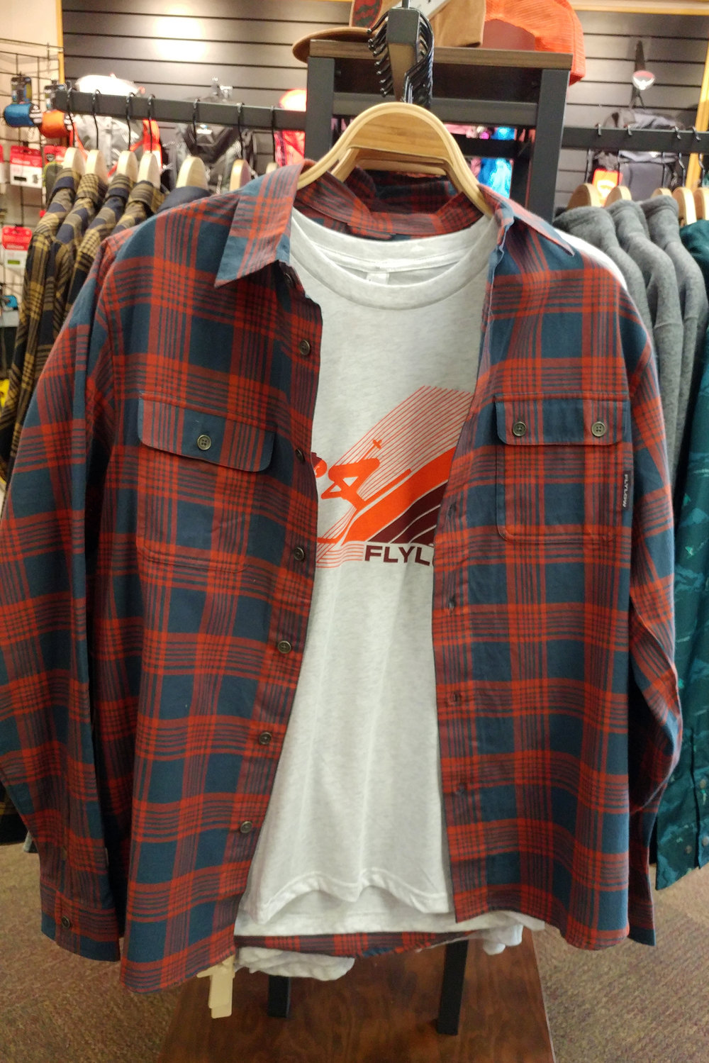 Flylow   Chappy Flannel and Super T