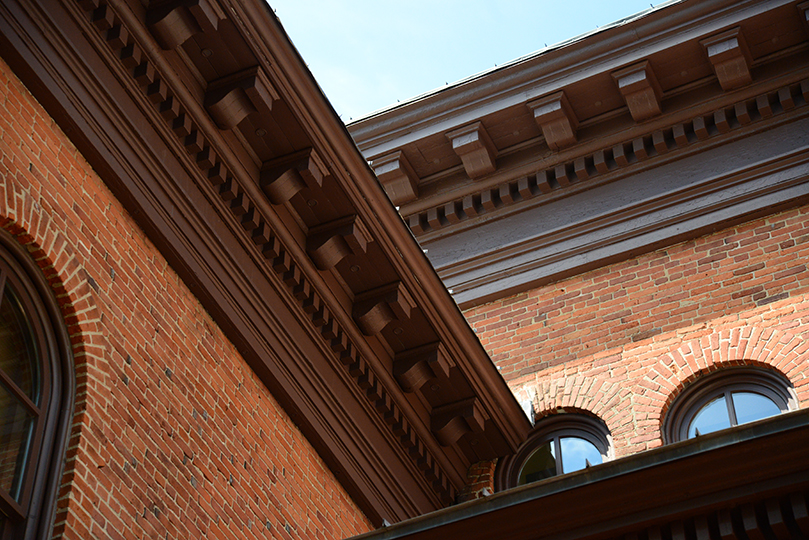 Washington County Historic Courthouse Soffit Restoration